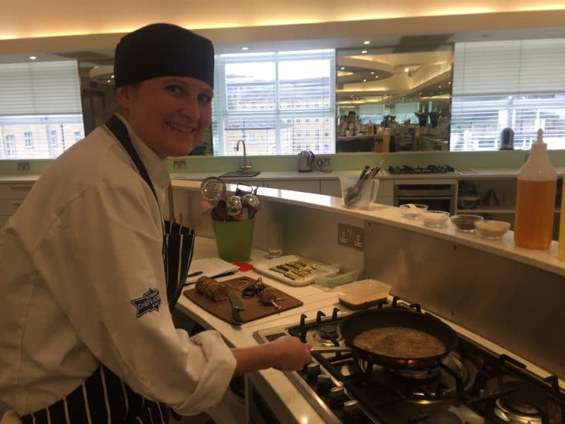 Cooking at Ashburton, Halifax