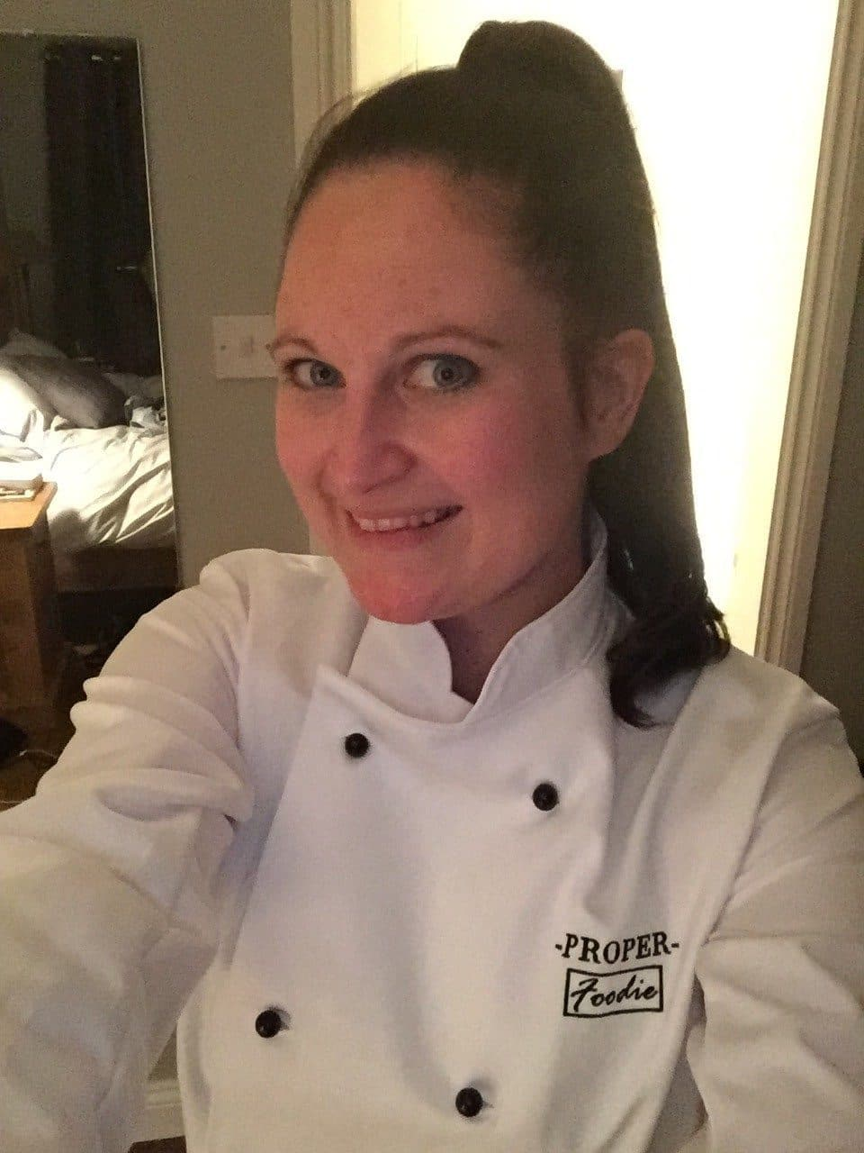 My new ProperFoodie chef whites