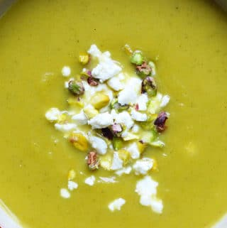 butternut celery sage soup