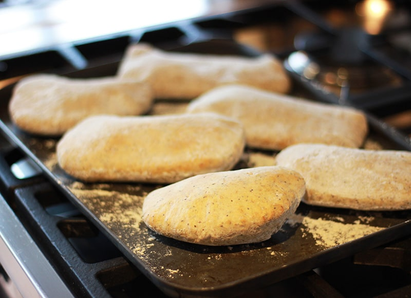 baked pitta bread