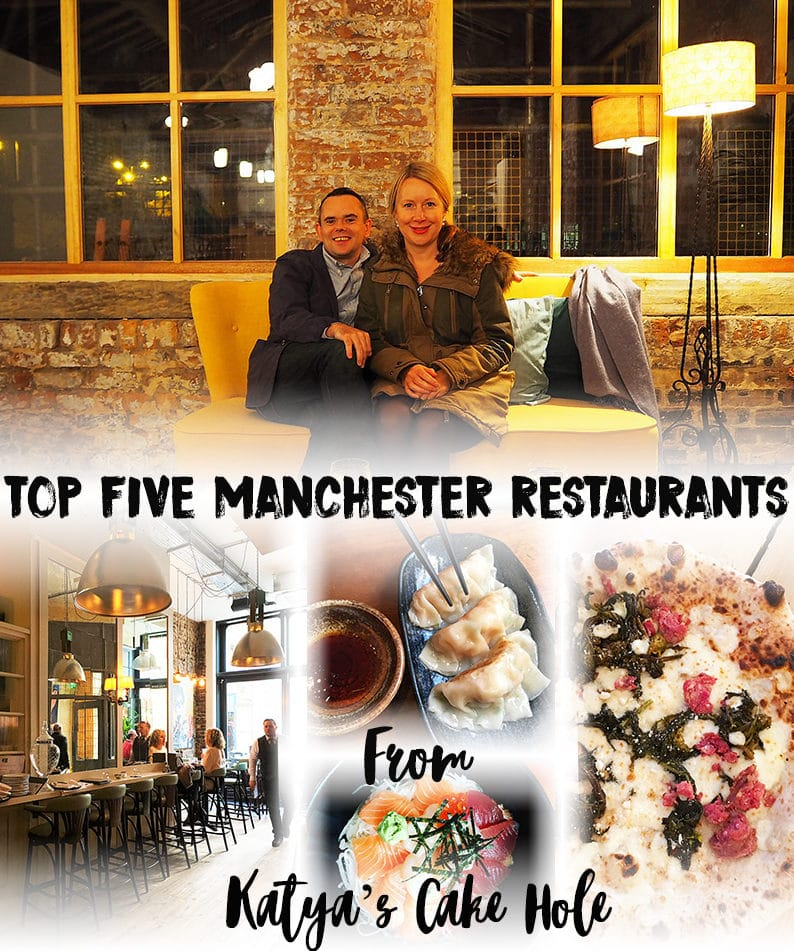 Top five Manchester restaurants by Katya's Cake Hole