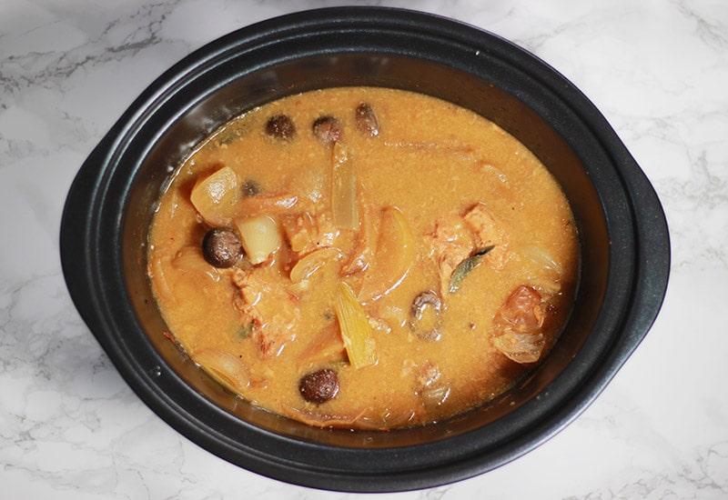 chicken sage and apple stew