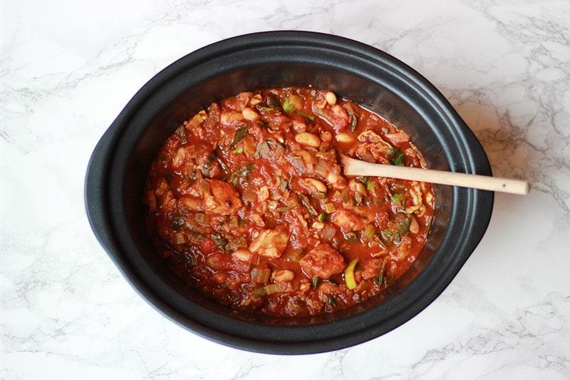 slow cooker hot pot
