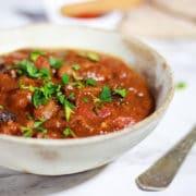 slow cooker turkey stew