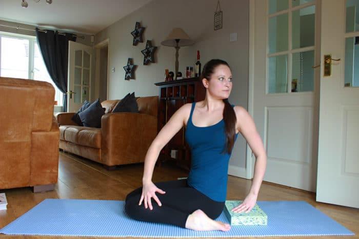 yoga body twists