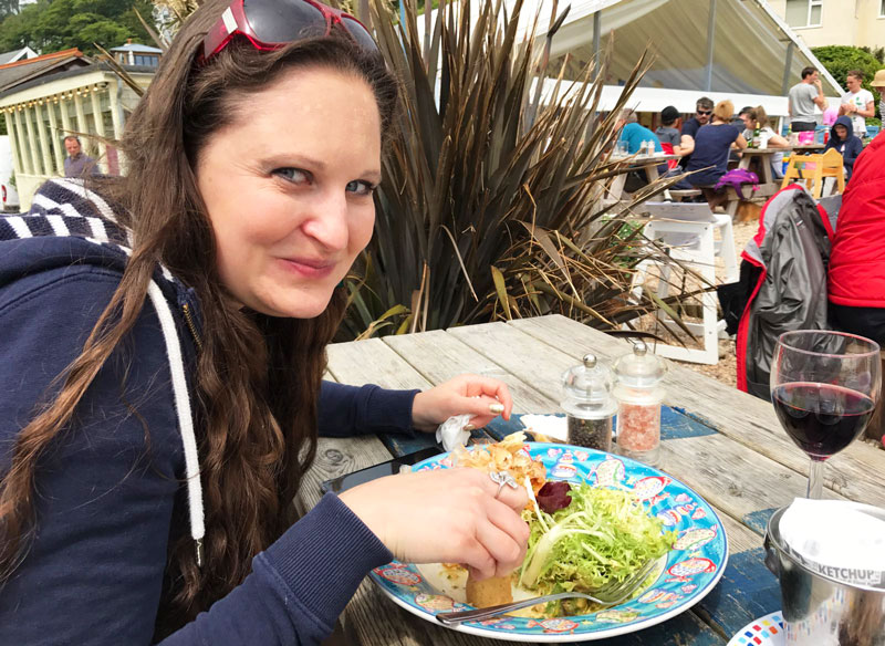 food face at the winking prawn