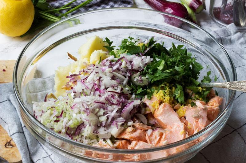 salmon fishcake ingredients