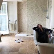 south sands hotel bathroom