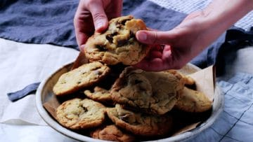 soft bake cookies fresh out of the oven