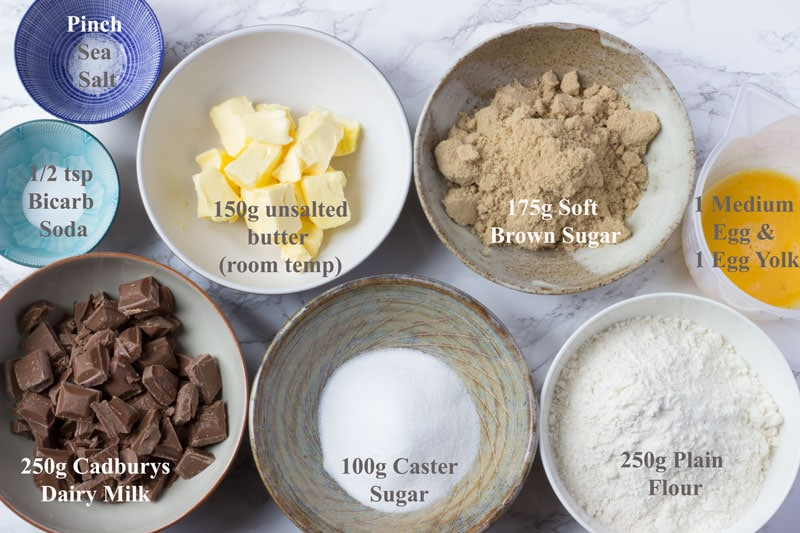 soft bake cookies ingredients