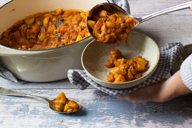 Danish bean stew eat yourself happy