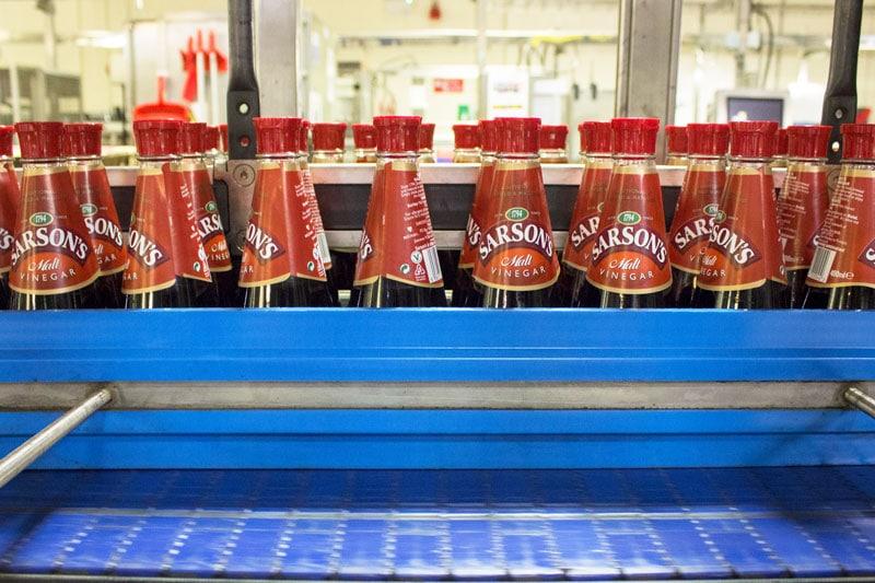 Sarsons bottled