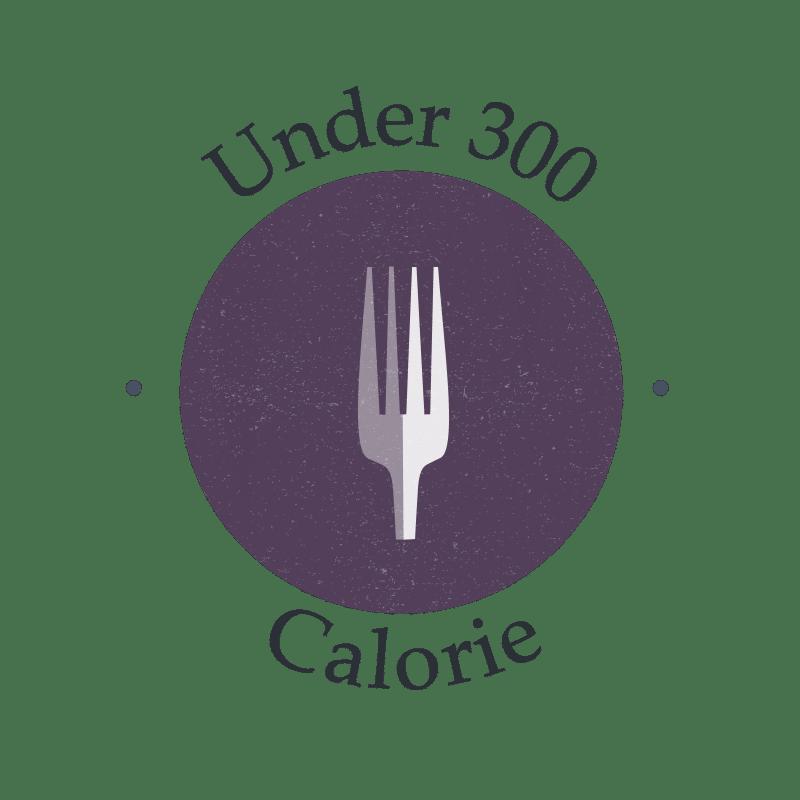 under 300 calorie recipe