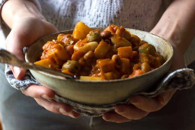 bean stew eat yourself happy