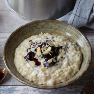 rice pudding eat yourself happy