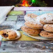cranberry mince pies with amaretti frangipane