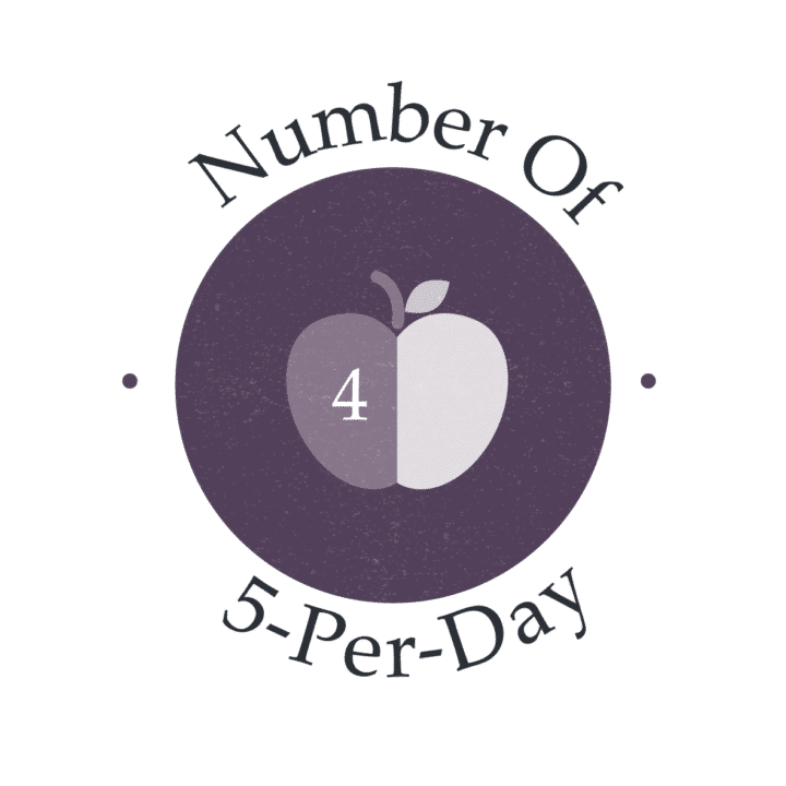 4 of 5 a day