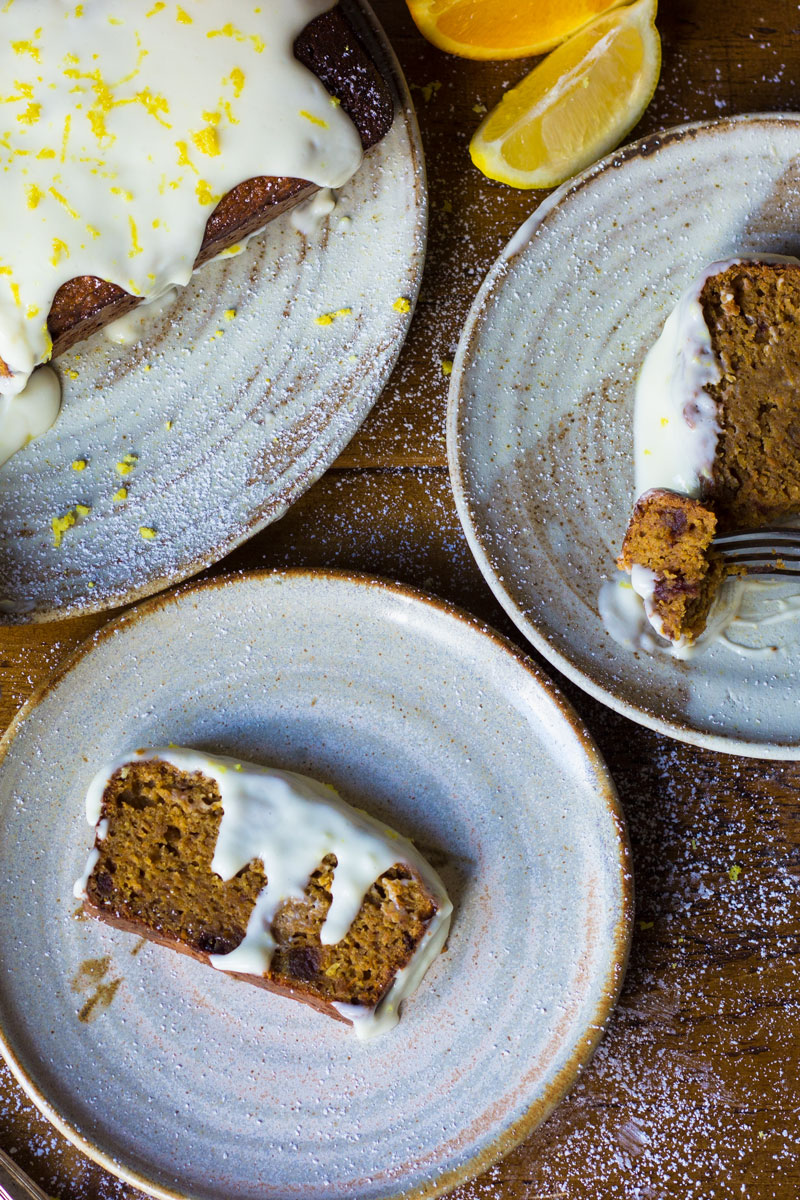 easter date almond carrot cake