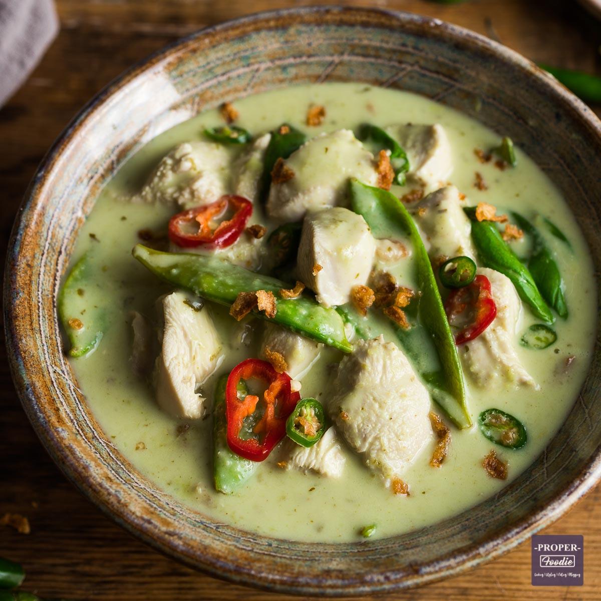 génial  Mot-Clé Thai Green Curry Recipe