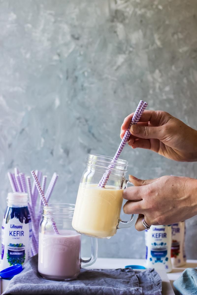 Kefir smoothie
