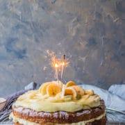 banana celebration cake
