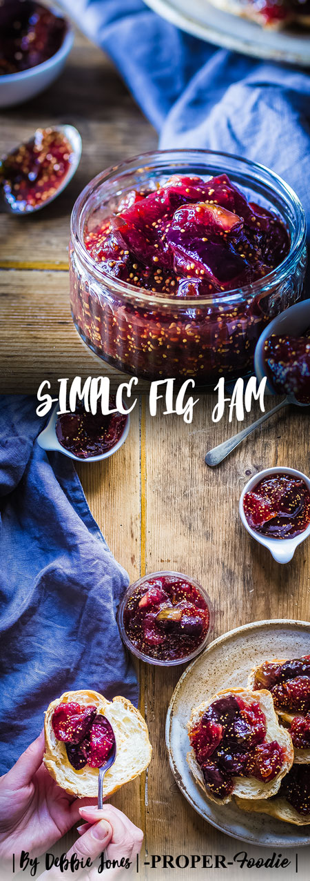 Simple fig jam