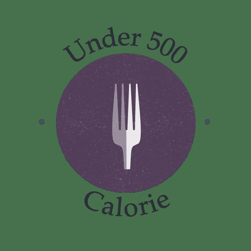 under 500 calories recipe
