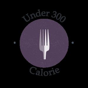 Under 300 calories