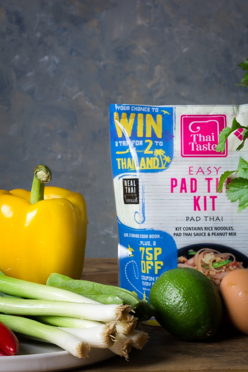 Easy pad thai kit from thai taste