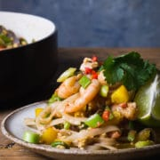 pad thai noodles recipe with prawns