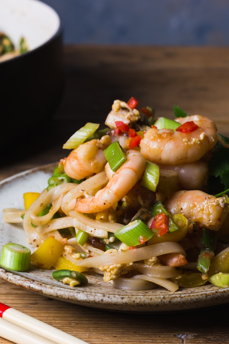 prawns in pad thai