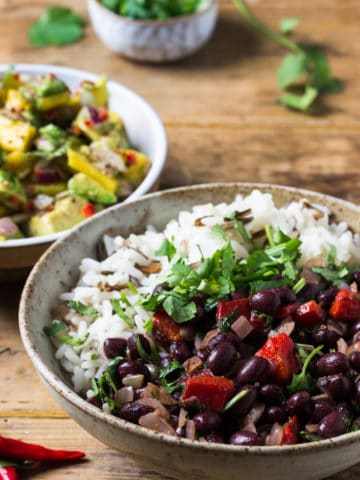 cuban black bean rice