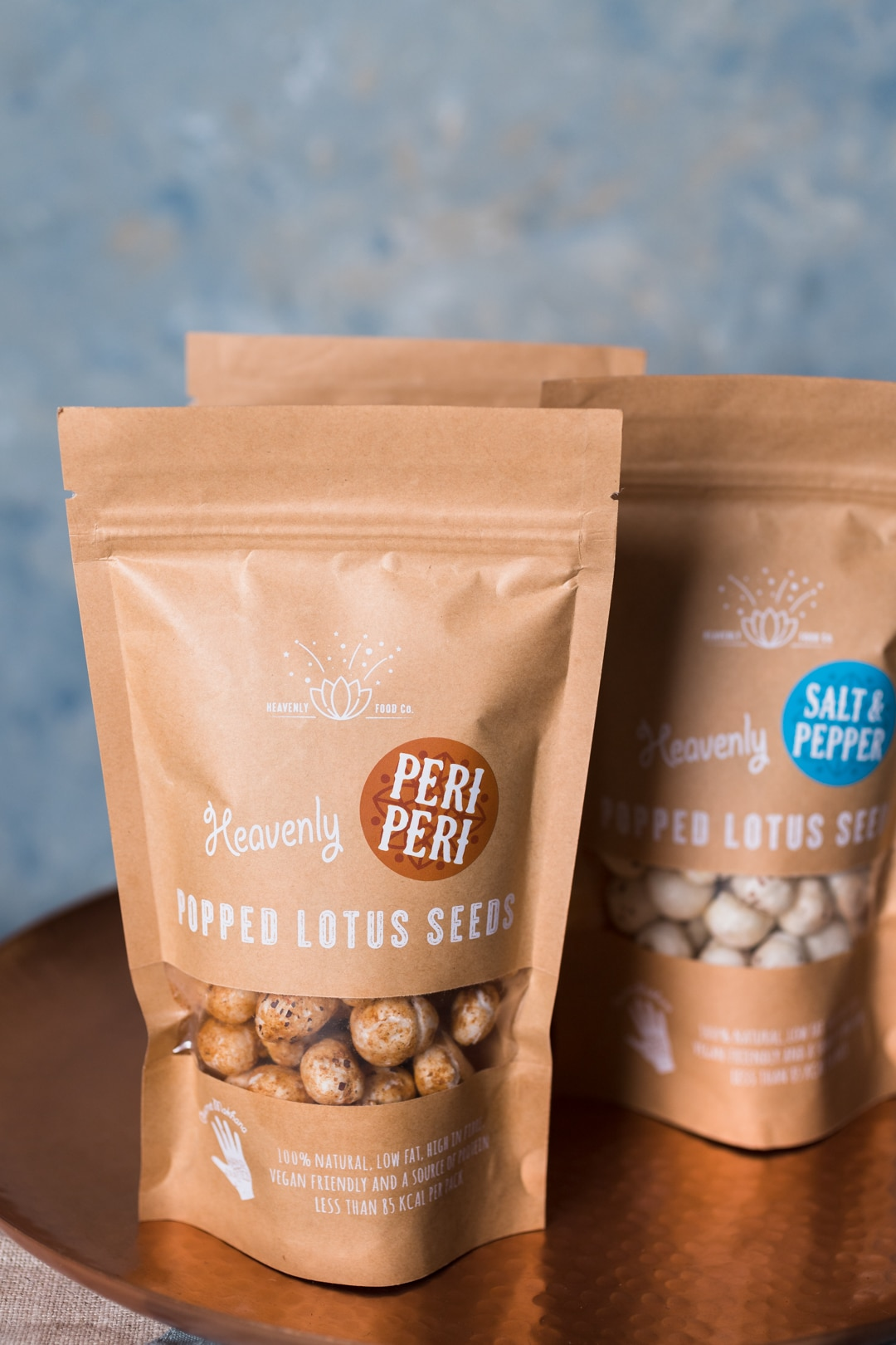 Image for Heavenly Food Company peri peri popped lotus seed