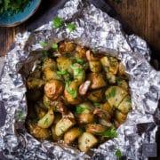 foil pack potatoes