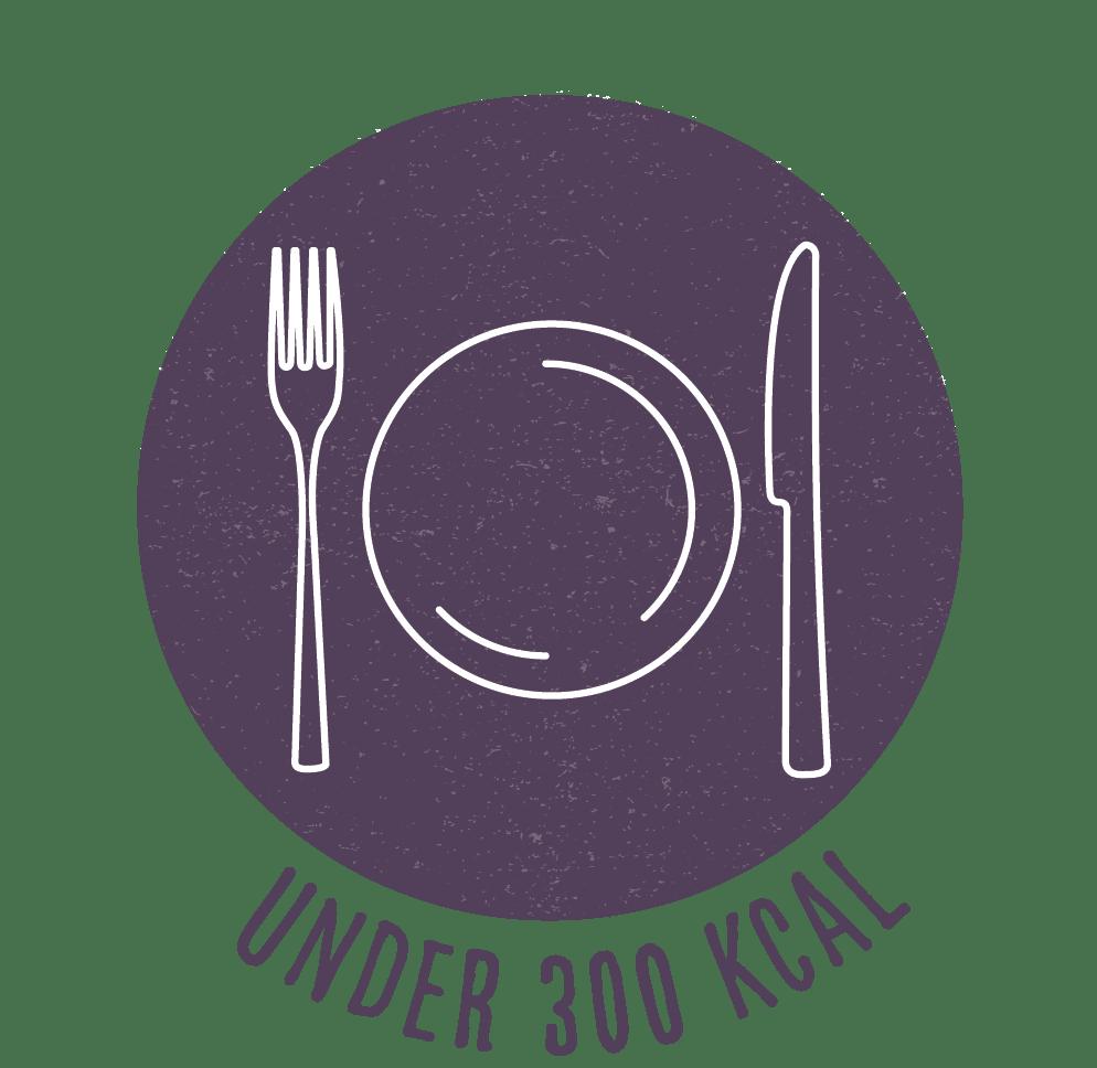 under 300 calories recipe