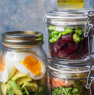 breakfast on the go in jars