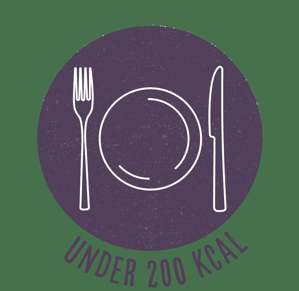 Under 200 calories recipe