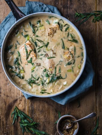 Chicken and leeks recipe
