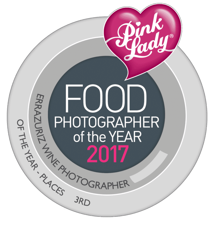 Pink Lady photography awards 3rd place winner for wine Places 2017