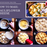 Creamy cauliflower cheese recipe baked to perfection. One of the best side dishes to serve up with any meal, particularly a Sunday roast.