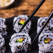 How to make California sushi rolls